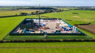 Cuadrilla Resources site in Lancashire