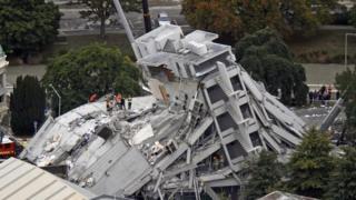 زلزله در نزدیکی شهر کرایستچرچ در جزیره جنوبی نیوزیلند رخ داد