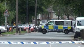 Darlington murder scene