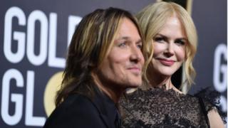 Nominee Nicole Kidman attends the ceremony with her husband Keith Urban