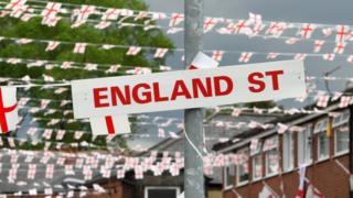England Street in Oldham