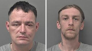 Jason Shreeve, 42, and Luke Hainsworth, 30