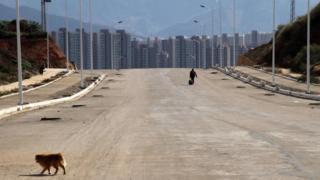 Çin hayalet şehirler