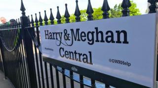 Windsor & Eton Central station sign