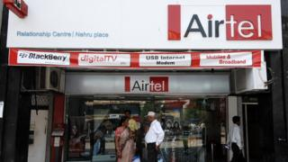 Airtel store in Delhi