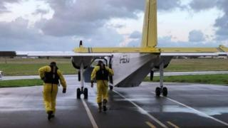 Channel Islands Search and Rescue plane