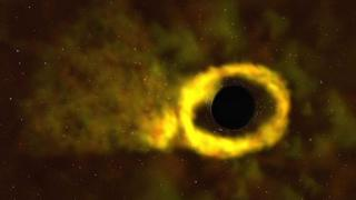 شاهد: ثقب أسود يلتهم نجما