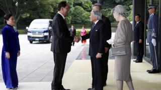 Chủ tịch nước Trần Đại Quang và Phu nhân mời các thành viên Hoàng gia Nhật Bản thăm Việt Nam
