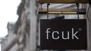 French Connection FCUK sign
