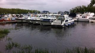 The Fermanagh lakes attract boating enthusiasts from all over Ireland and the UK, as well as from further afield