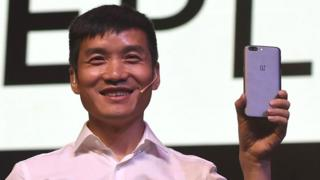 OnePlus chief executive Pete Lau