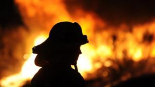 Californian firefighter
