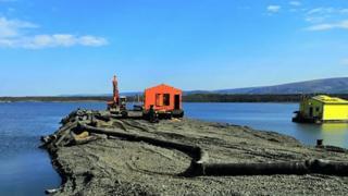 Talnakh tailings reservoir, 28 Jun 20