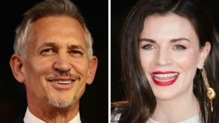 Gary Lineker and Aisling Bea side by side
