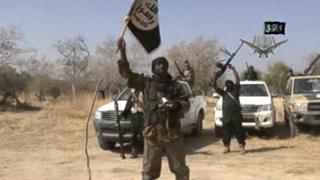 Isanamu yafatiwe kuri television y'abasirikare ba Boko Haram mu 2010