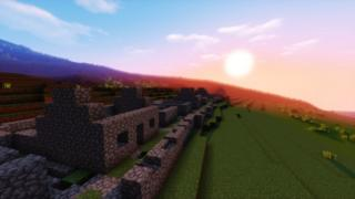 St Kilda in Minecraft