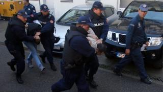 Karadağ'da gözaltına alınanlar