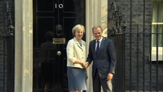 Tusk and May
