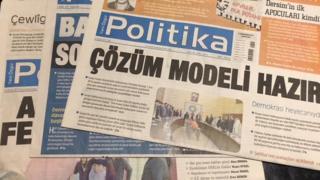 Yeni Ozgur Politika newspaper