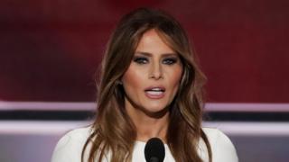 Melania Trump se dirige a la Convención Nacional Republicana