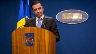 رئيس وزراء رومانيا