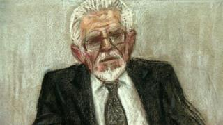 Rolf Harris (court sketch by Julia Quenzler)