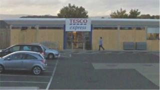 Tesco Express in Airdrie
