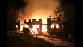 Heathfield fire