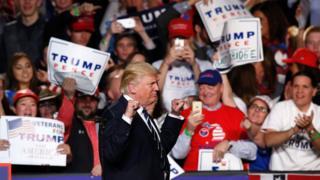 Donald Trump en Michigan