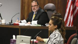 Kristhielee Caride in court 2016 Puerto Rico