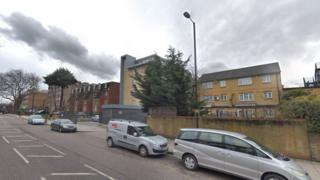 Scene of the attack on Amhurst Park near Rav Pinter Close