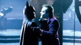 Мајкл Китон и Џек Никлсон, као Бетмен и Џокер