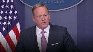 Katibu wa maswala ya habari nchini Marekani Sean Spicer