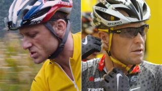 Ben Foster and Lance Armstrong