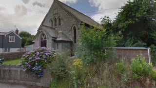 gereja, Godolphin Cross, cornwall