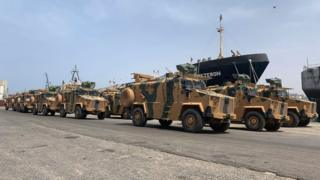 Armoured personnel vehicles