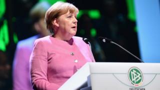 Angela Merkel file pic