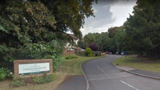 Overslade House Care Home, in Overslade Lane, Rugby