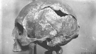 Tom Kent's picture of the skull