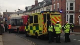 Gloucester road crash