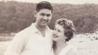 Derek's parents Cliff and Joan Brockway