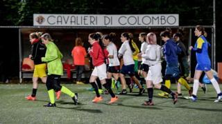 Vatikan kadın futbol takımının