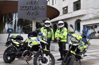 New Met Police motorbikes