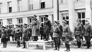 Советско-германский парад в Бресте 22 сентября 1939 года