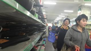 Shopping in Pyongyang