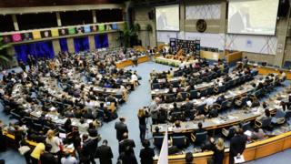 Meeting at the United Nations Environment Assembly in Nairobi, Kenya