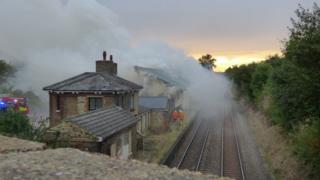 Fire at Higham