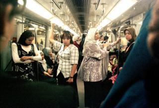 Mısır ve İran gibi ülkelerde kadın vagonu bulunuyor