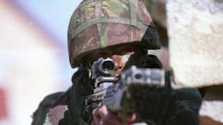 British soldier (generic)