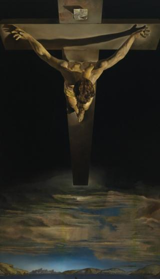 Christ Of St John Of The Cross by Salvador Dali